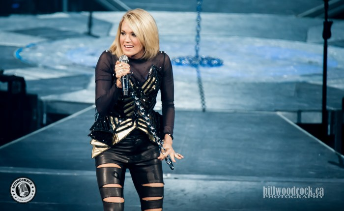 Carrie Underwood brings the Storyteller World tour to London ON. - Bill Woodcock