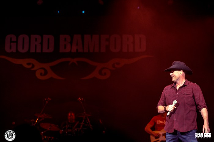Gord Bamford performs during the Certified Country Stop in Ottawa - Photo: Sean Sisk