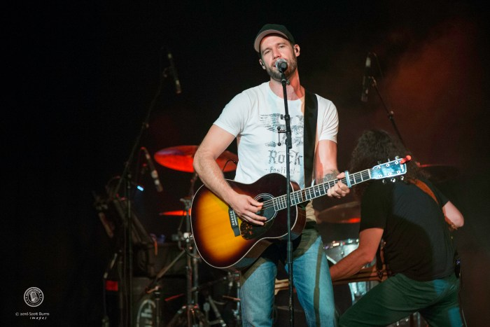 Chad Brownlee performs at The KEE to Bala, Muskoka. Photo: Scott Burns