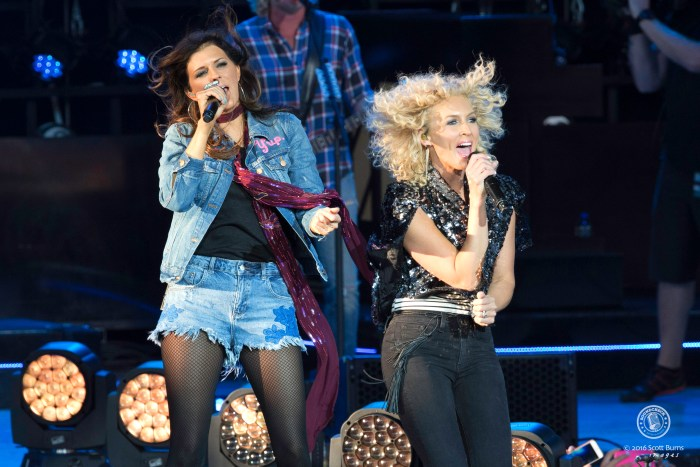 Little Big Town performs at a sold out Molson Canadian Amphitheatre, Toronto. Photo: Scott Burns