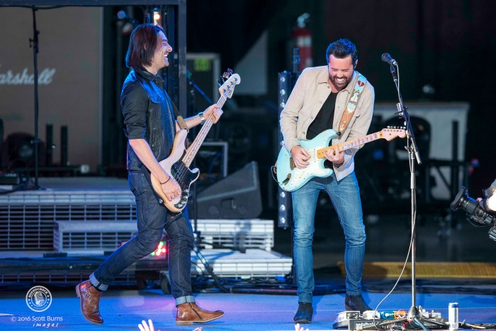 Old Dominion performs at the sold out Molson Amphitheatre in Toronto. Photo: Scott Burns