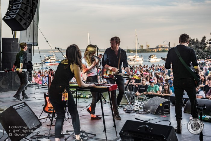 Fast Romantics perform at the Sound of Music Festival in Burlington - Photo: Mike Highfield