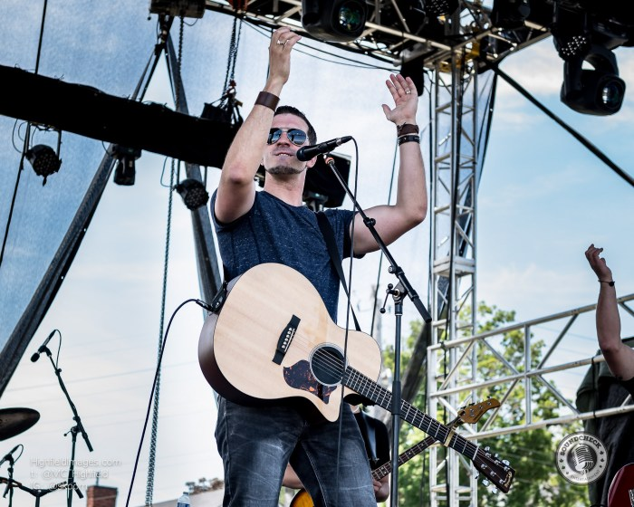 Rich Cloke performs at the Sound of Music Festival in Burlington - Photo: Mike Highfield