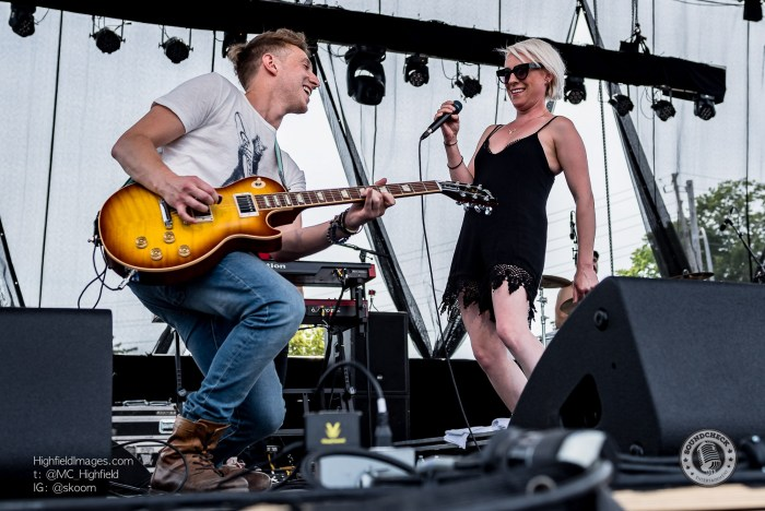 Small Town Pistols perform at the Sound of Music Festival in Burlington - Photo: Mike Highfield