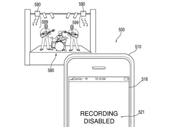 Apple Patent illustration