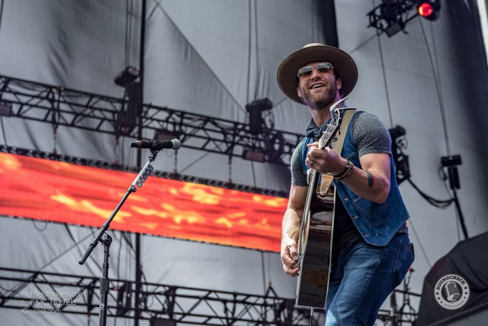 Drake White performs at CMT Music Fest in Kitchener - Photo Mike Highfield