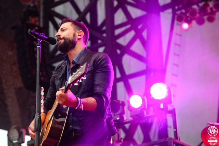 Old Dominion on stage at the 2016 Cavendish Beach Music Festival