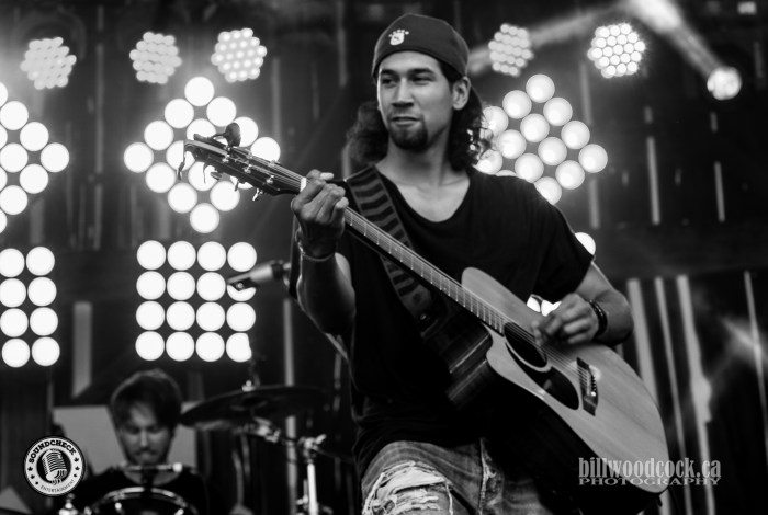 Ben Hudson plays CMT Music Fest in Kitchener, Ontario - Photo: Bill Woodcock
