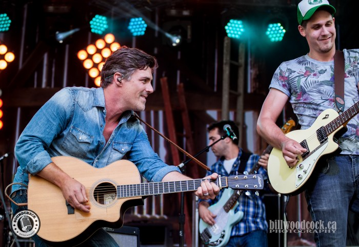 The Washboard Union perform @ CMT Music Fest in Kitchener - Photo: Bill Woodcock