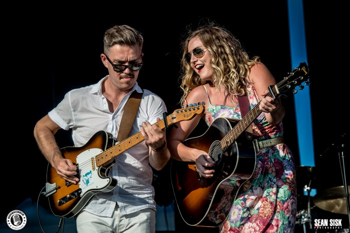 Kelly Prescott performs at RBC Bluesfest in 2016 photo by Sean Sisk