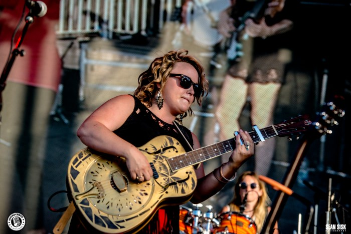 Samantha Martin and Delta Sugar perform at RBC Bluesfest photo by Sean Sisk