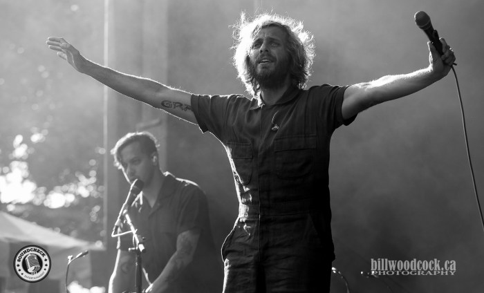 Awolnation performs at Rock The Park in London. Photo: Bill Woodcock