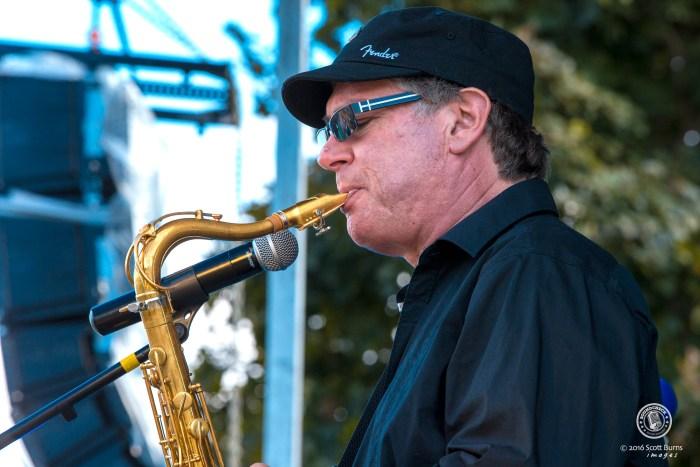 Glenn Marais Band performs at Newmarket Jazz Fest. Photo: Scott Burns