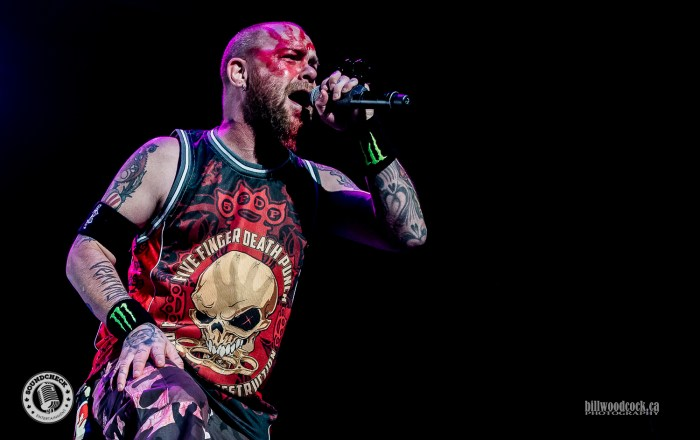 Five Finger Death Punch perform in London ON - photo: Bill Woodcock