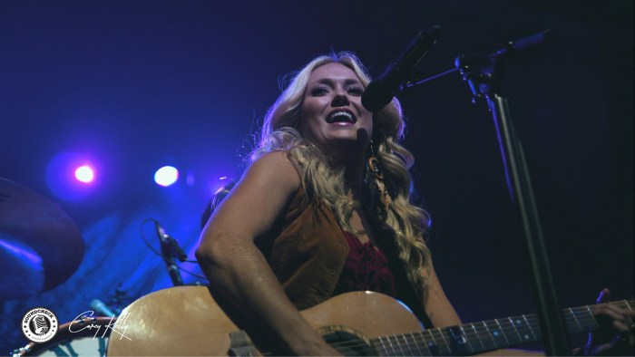 Meghan Patrick peforms at General Motors Centre in Oshawa on the Me And My Kind Tour - Photo: Corey Kelly