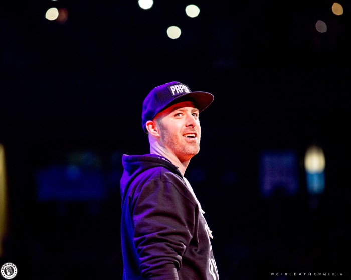 Classified takes part in WE Day celebrations at Canadian Tire Centre in Ottawa photo by Dave DiUbaldo