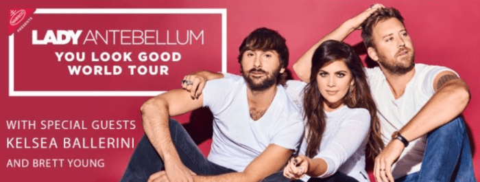Lady Antebellum You Look Good Tour