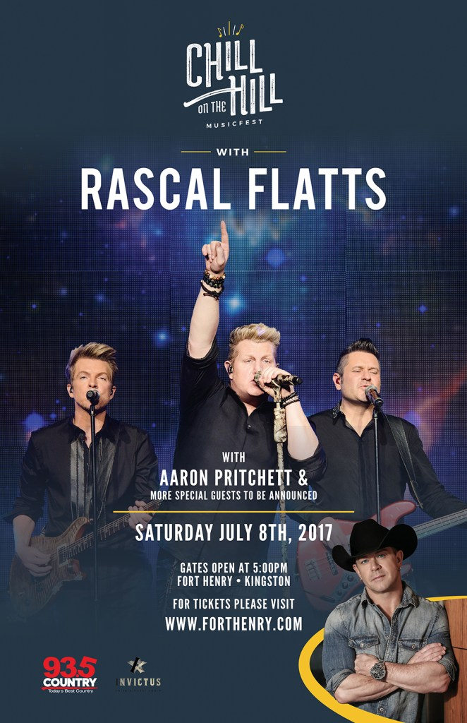 Rascal Flatts Chill on The Hill Kingston
