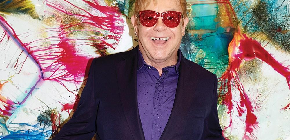 Elton John Wonderful Crazy Night album cover