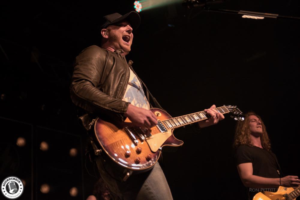 Tim Hicks performs at Festival Country de Lotbinière photo by Ron Pettitt