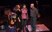 Kelly Prescott is joined by her family at the National Arts Centre in Ottawa photo Rob Blanchette