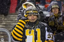 This guy is NOT an Argos fan! photo by Renee Doiron