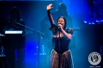 American rock band, Evanescence, performed a sold out show at the Sony Centre in Toronto. In picture: AMY LEE