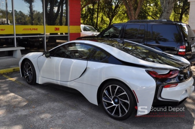 2016 BMW i8 Paint Protection