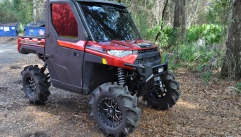 Repeat Ocala Client Gets Audio System for Polaris Ranger