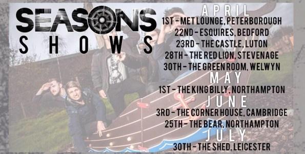 Tour Dates - Seasons