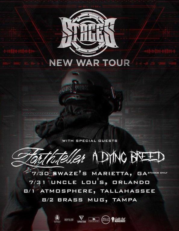 New War Tour Poster