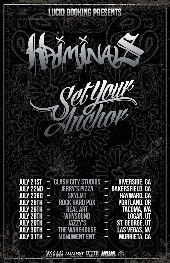 Set Your Anchor - Tour