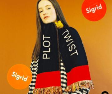 "Sigrid Releases New Track ""Plot Twist"""