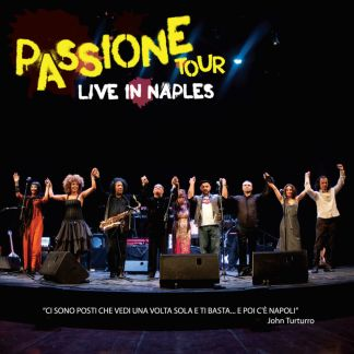 Copertina Passione Tour - live in Naples
