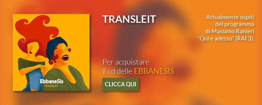 Banner TRANSLEIT delle Ebbanesis
