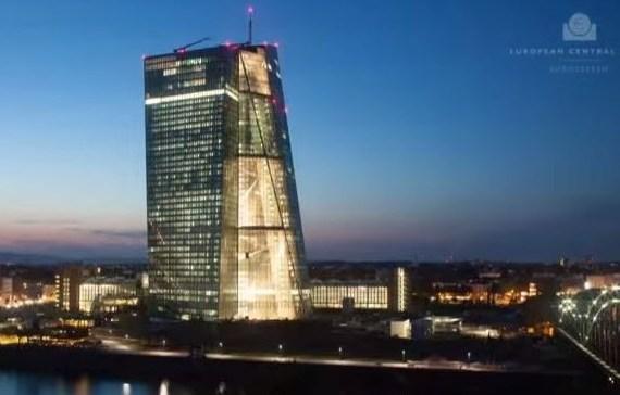 Neubau des EZB Gebäudes in Frankfurt