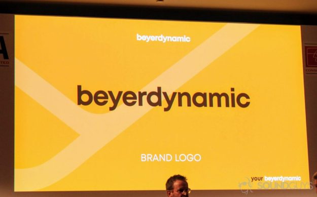 Beyerdynamic new logo from IFA 2018.