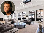 Four-bedroom NYC penthouse in the building where Heath Ledger was found dead sells for $35.14million