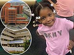 Girl, 3, dies at a Queens hospital after 'falling unconscious while eating snacks and watching TV'