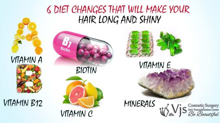 6 diet changes that will make your hair long and shiny - Vjclinics