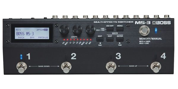 OSS ( ボス ) / MS-3 Multi Effects Switcher