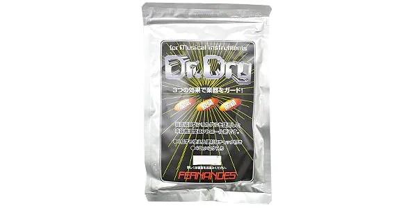 ケース内部を常に一定の湿度に保つ、楽器用の湿度調整剤。■40g×2袋