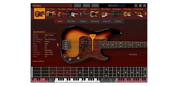 Trilian一強を覆したフィジカル・モデリング・ベース音源「MODO BASS」。 豊富な種類と奏法のモデリング、圧倒的な軽容量200MB。 動作の軽さに感動します。 サウンドハウス価格 ¥34,800 (¥37,584 税込)
