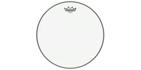スネアサイド(ボトム用)ドラムヘッドの超定番114SA。スナッピーに振動を伝えやすい極薄のスネアドラム・ボトム専用ヘッドです。