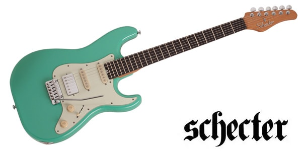 SCHECTER ( シェクター ) / Nick Johnston Traditional H/S/S Atomic Green