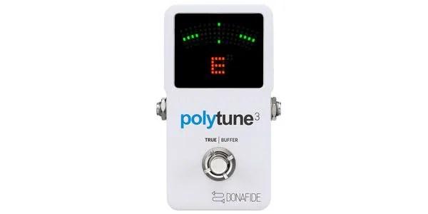 TC ELECTRONIC ( ティーシーエレクトロニック ) / PolyTune 3