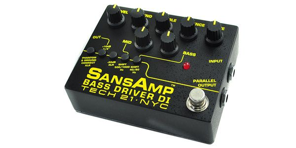 TECH21 ( テック21 ) / Sansamp サンズアンプ/Bass Driver DI V2 定番プリアンプ