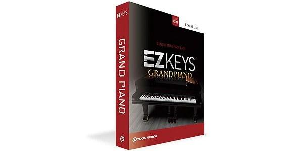 「TOONTRACK ( トゥーントラック ) / EZ KEYS - GRAND PIANO」をサウンドハウスで見る