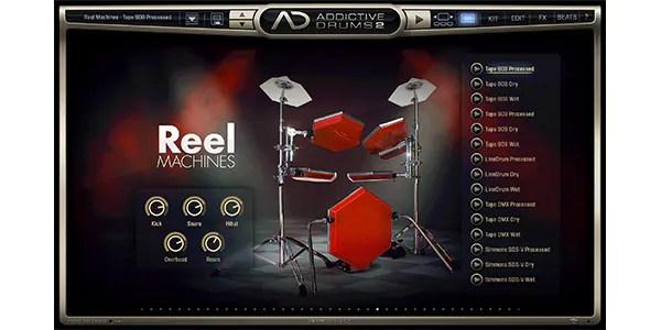 XLN AUDIO / Addictive Drums 2 : Reel Machines