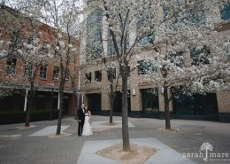 Taylor and Carrie's wedding at Crocker Art Museum